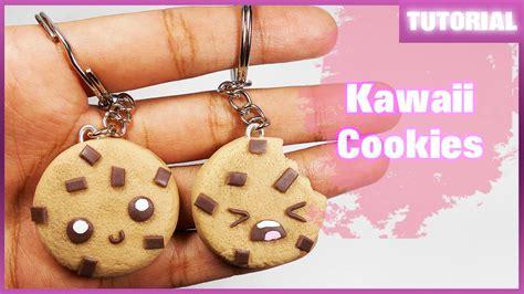 imagenes de llaveros kawaii kawaii cookies charms tutorial polymer clay porcelana
