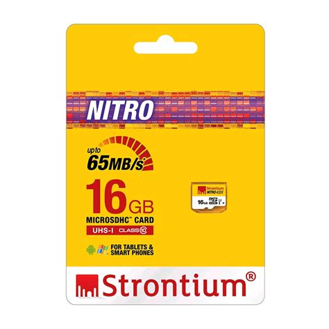 Micro Sd Strontium Nitro Plus 16g 4k Class10 Uhs 1 U3 Murah Dan Handal strontium nitro 433x microsdhc card 16gb 65mb s class