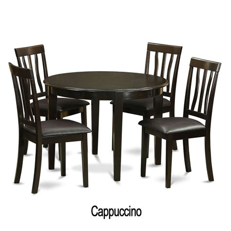 kitchen table and chairs 5 piece small kitchen table and 4 kitchen chairs ebay