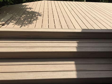 terrassen aus holz 3111 terrasse aus holz kunststoff in holzdielen optik julius