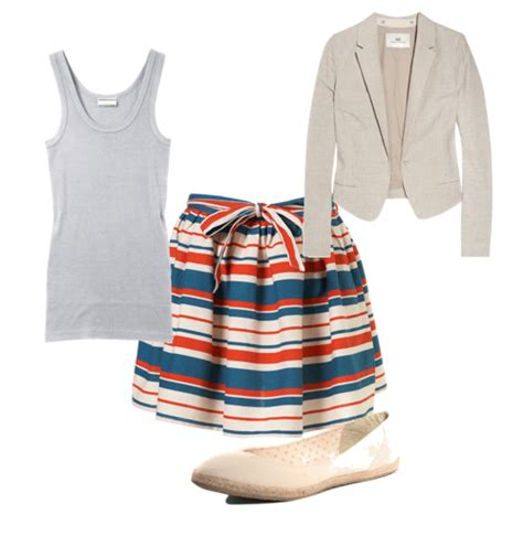 Working The Nautical Trend by Summer Trends 5 Ways To Wear The Nautical Trend To Work