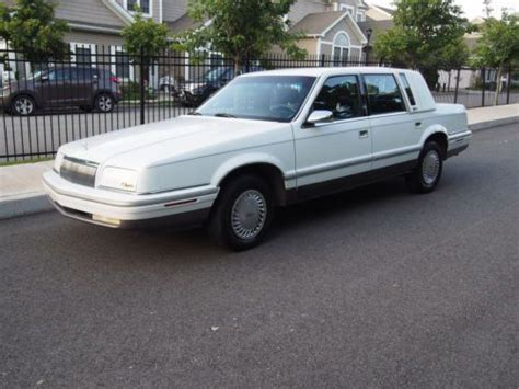 purchase used 1993 chrysler new yorker fifth ave 75k original mi 50 photos loaded a