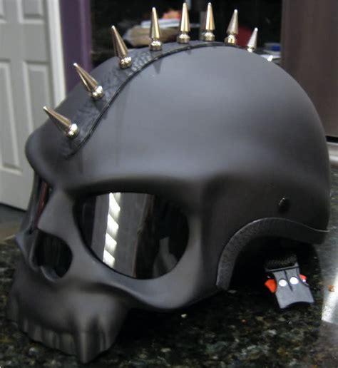 sick motocross helmets black skull novelty motorcycle biker half helmet shorty
