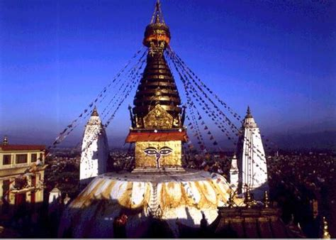 Healing Light by Why Swayambhunath The Vajra Wheel Project The Project