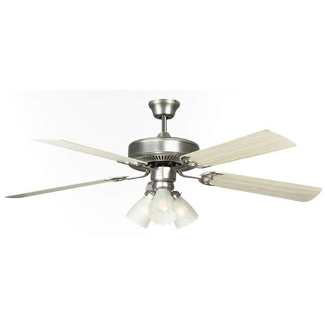 concord fans 52 quot home air satin nickel modern ceiling fan
