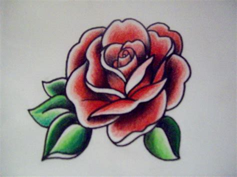 traditional rose tattoos www imgkid com the image kid