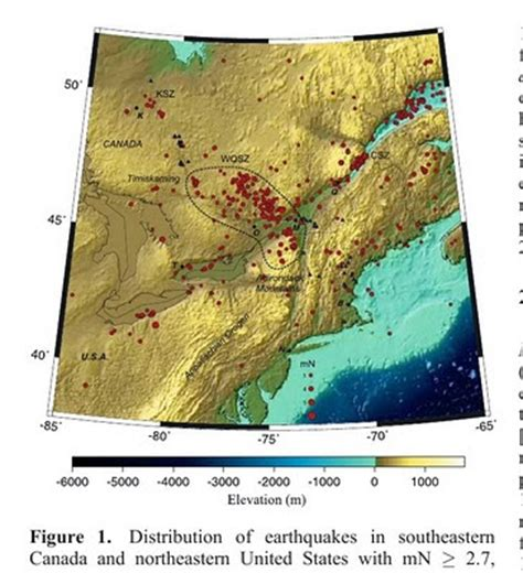 Ontario Geofish Western Quebec Seismic Zone Part 2 | ontario geofish western quebec seismic zone part 2