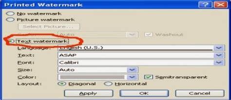 membuat watermark sertifikat cara membuat watermark atau gambar latar pada microsoft