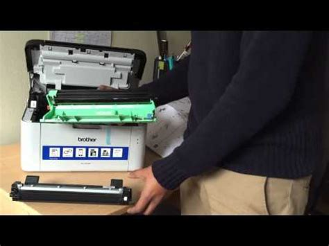 reset brother hl 1110e brother hl 1210w wireless review unboxing doovi