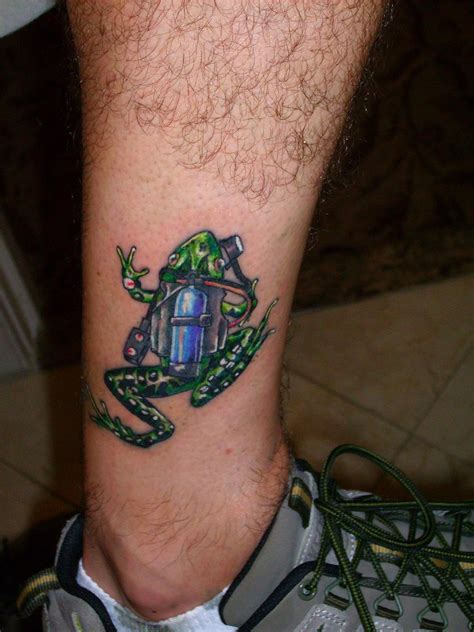 frogman tattoo frog tattoos designs ideas and meaning tattoos for you