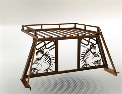 Headache Rack Designs by Headache Rack W Roof Top Storage Step Iges