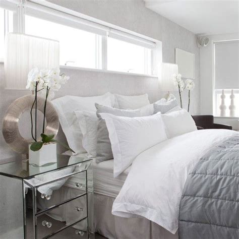 bedroom blinds ideas stylish white bedroom blending ice white walls bedlinen