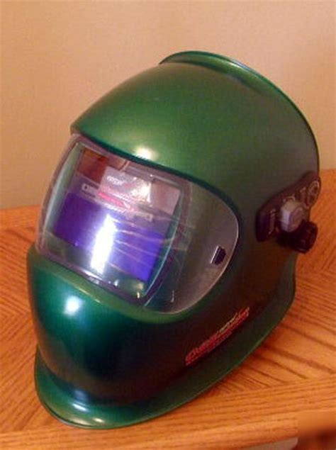 green optrel satelite welding helmet uvex