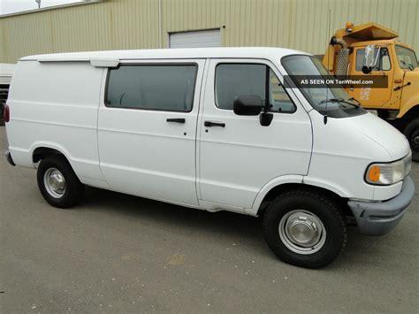dodge work van 1996 dodge ram 2500 extended cargo van no rear seats