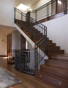 Crib door arrangement idea in traditional staircase