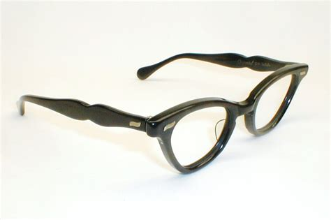 womens vintage eyeglasses black cat eye glasses