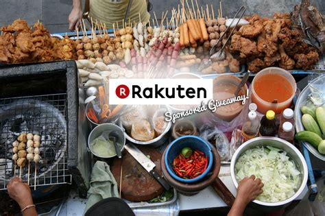 Sponsor Giveaway - 11 street food you cannot miss in bangkok rakuten sponsored giveaway