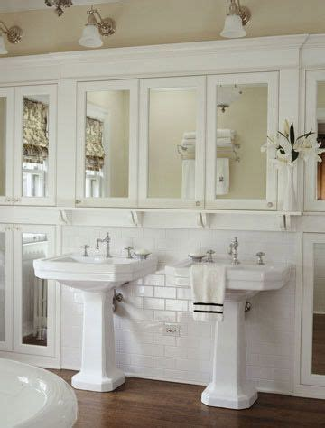 cottage mirrors for bathrooms pedestal sink cottage bath and sinks on pinterest
