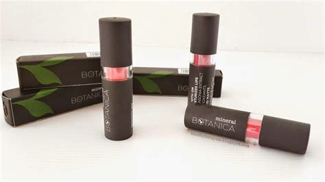 Lipstik Botanica No 5 mineral botanica matte lipstick lipstik warna nan cantik dan ramah di dompet