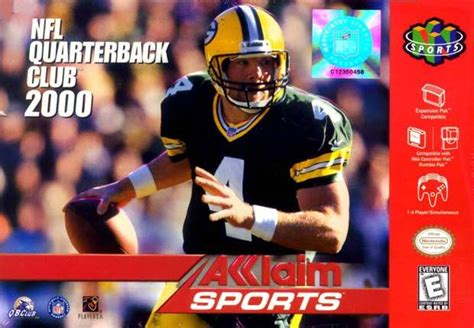 nfl quarterback club  nintendo  game