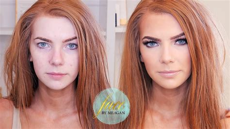 tutorial makeup ginger makeup for redheads tutorial green beauty face by