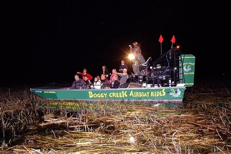 airboat in kissimmee boggy creek airboat rides florida everglades rides
