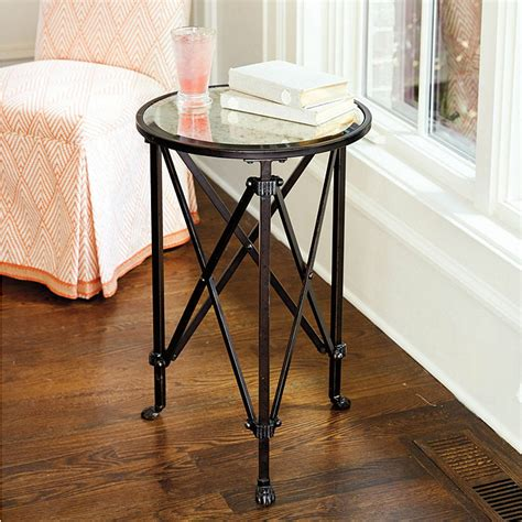 ballard designs side table mirrored side table ballard designs