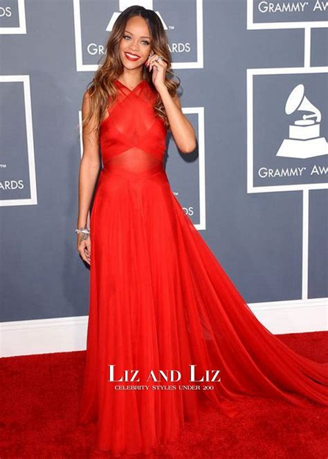 Dress Rihanna rihanna dress for prom grammys 2013