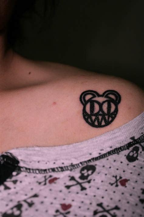 radiohead tattoo radiohead kid a wl there radiohead and kid