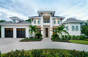 Tri Level Curb Appeal - naples fl west indies style home