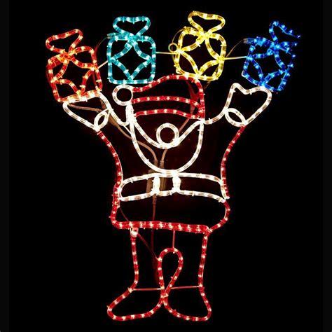 santa gift box christmas rope lights buy online at qd stores
