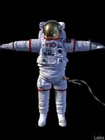 Spaceman Moving Astronaut Animated Graphics Animate It