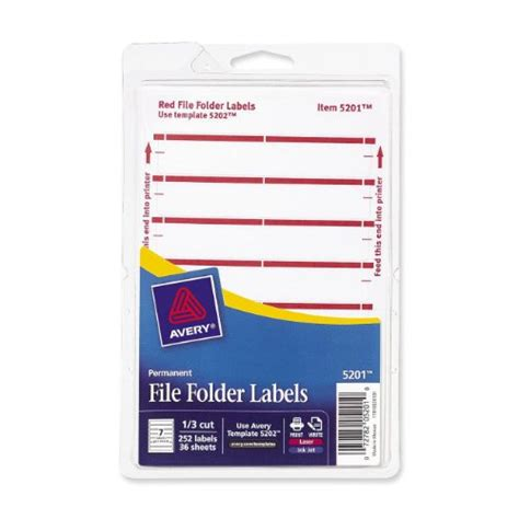 252 Label Avery Filing Labels Nameloty Avery Worksaver Tab Inserts 11136 Template
