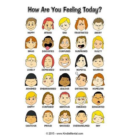 4 Letter Words Depicting Emotions 1000 images about feelings emotions on bingo