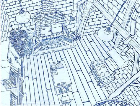 le layout en animation hansel grethel location designs