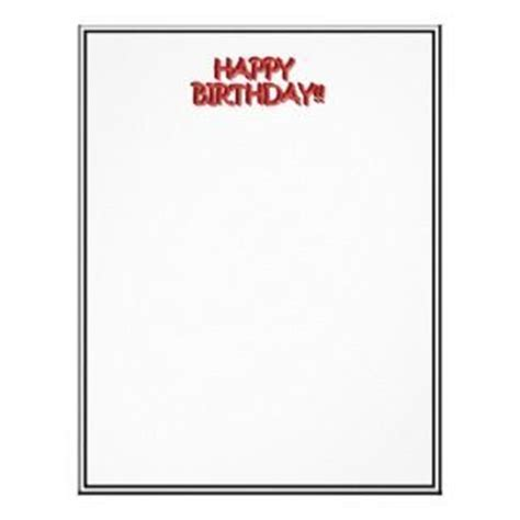 birthday letter template 102 best images about birthday stationery on