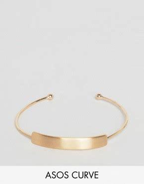 Asos Curb Chain Arm Cuff plus size jewellery longer length necklaces bracelets