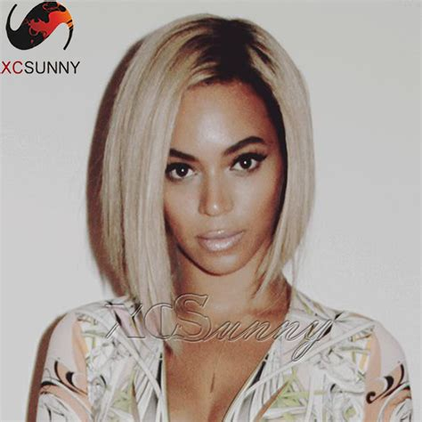 best human hair wig styles for 70 year old 8a brazilian virgin hair beyonce ombre human hair bob wig