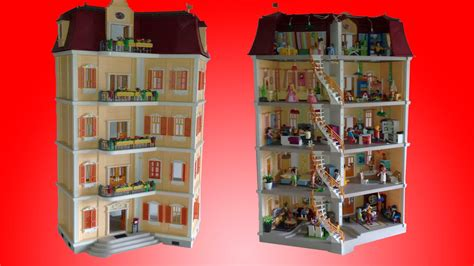 play mobile doll house dollhouse playmobil
