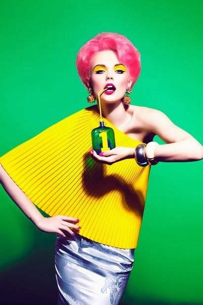 what is pop photography pop style color