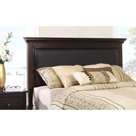 dorel signature logan black headboard available in