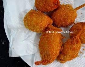 Mitzui Juicer Blender just try taste kaki naga udang shrimp chicken drumstick