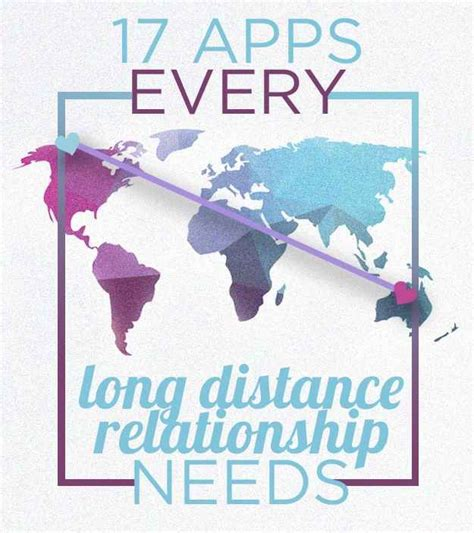Apps For Distance Relationships 25 Best Ideas About Distance Gifts On