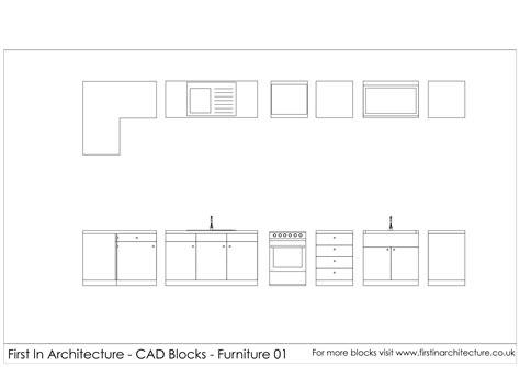 Free Cad Blocks Kitchen by Free Kitchen Cad Blocks In Architecture