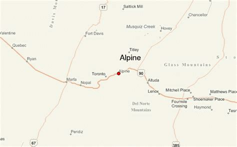 map alpine texas alpine texas location guide