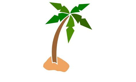 gambar pohon kelapa clip cliparts co gambarlin