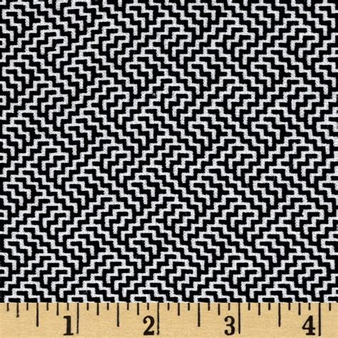 black white upholstery fabric telio bengaline jacquard abstract print black white