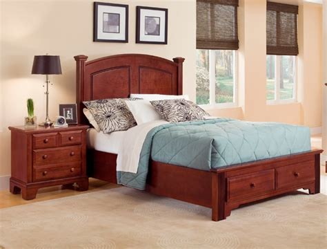 hamilton bedroom set hamilton franklin storage panel bedroom set cherry finish