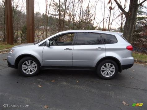 subaru metallic ice silver metallic 2012 subaru tribeca 3 6r limited