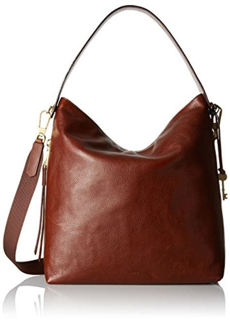 Fossil Hobo Grained Swing The Season fossil large hobo brown import it all